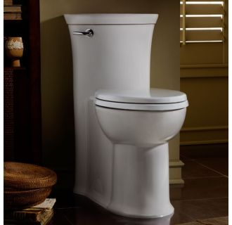 American Standard 2786 128 222 Linen Tropic Elongated One Piece Toilet With Concealed