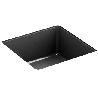"Kohler 7124-BL Drain Without overflow 1-1//4/"" connection Matte Black"