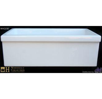 Whitehaus Whq530 White White 30 Quot Quatro Alcove Reversible