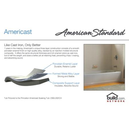 American Standard 2390 202 020 White Princeton 60