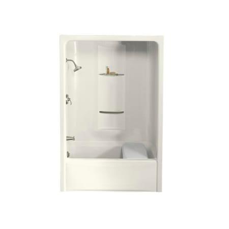Kohler K 1681 0 White Sonata 60 Quot Acrylic Soaking Tub And