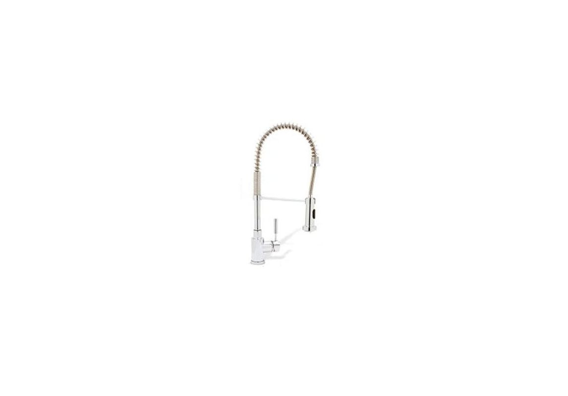 High Arc Kitchen Faucet Reviews Blanco 441754 Stainless Steel Meridian High Arc Kitchen