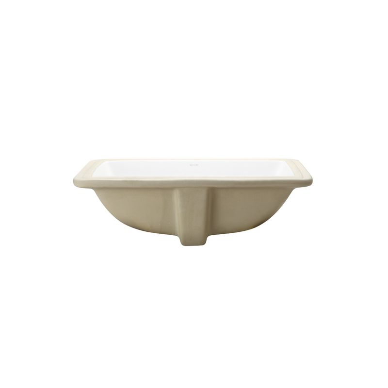 Decolav 1402 Cwh White 21 1 4 Quot Undermount Bathroom Sink