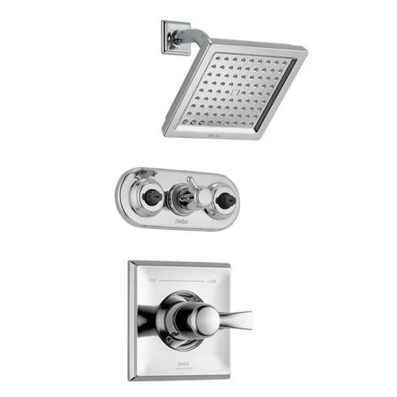 Delta Dryden Monitor 14 Series Shower Package Ch Chrome