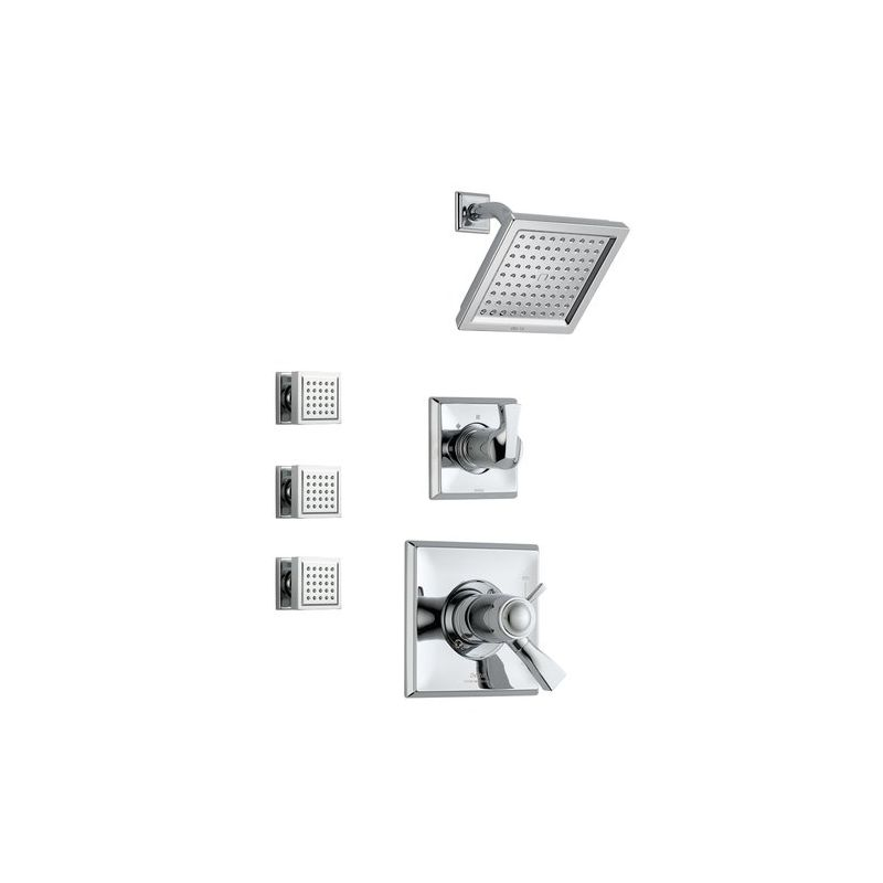 Delta Dryden Monitor 17 Series Shower System Ch Chrome
