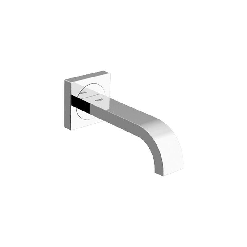 Grohe 13265000 Starlight Chrome Allure Non Diverter Tub Spout Wall Mount