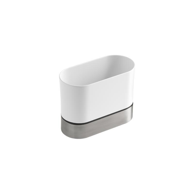 Kohler K 6378 0 White Reset Plastic Sink Caddy With