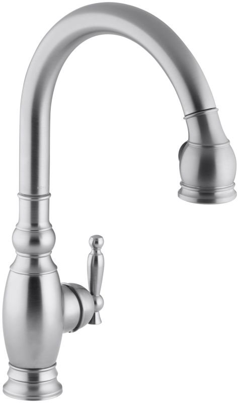 kohler k 690 g brushed chrome vinnata single hole or three