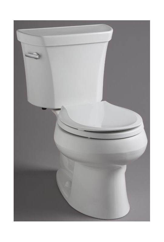Kohler K 3997 0 White 1 28 Gpf Two Piece Round Toilet With
