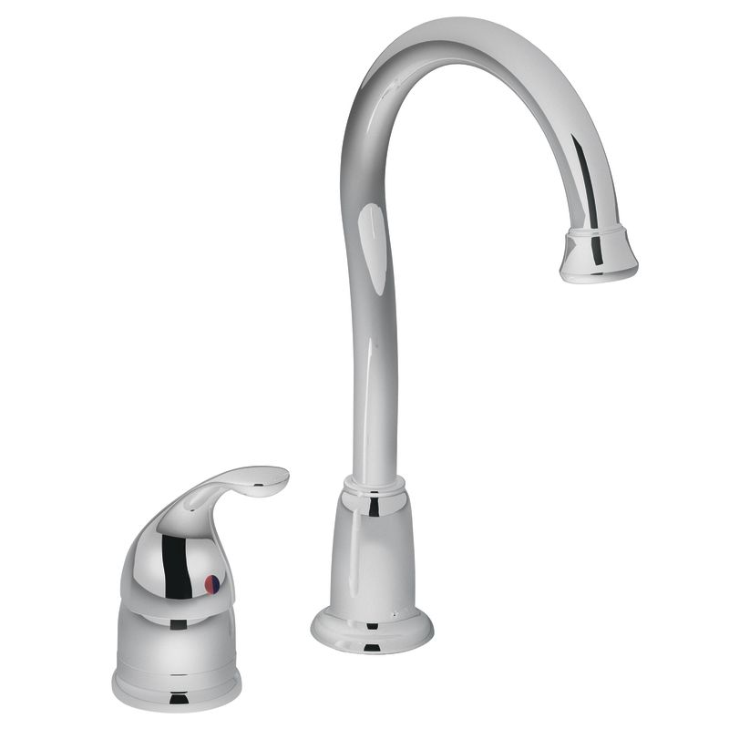 Moen 4905 Chrome Single Handle Bar Faucet From The