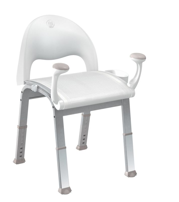 moen csidn7100 glacier adjustable shower seat with seat back and arm rests  from the home care collection. Bath Chair Walgreens  Image Of Octo Bath Mat  Drive Medical