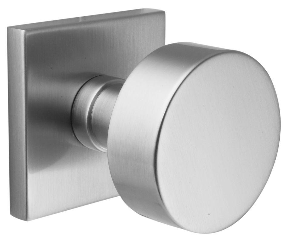 Emtek 520rouus15 satin nickel round knob brass modern privacy knobset - Contemporary interior door knobs ...