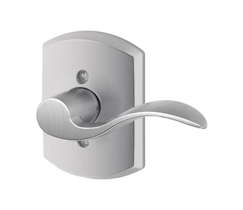 Schlage F170acc626grwrh Satin Chrome Accent Right Handed
