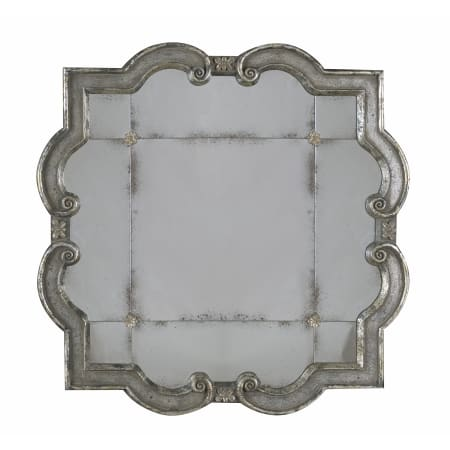 Uttermost 12597 P Distressed Silver Leaf Over Black Prisca