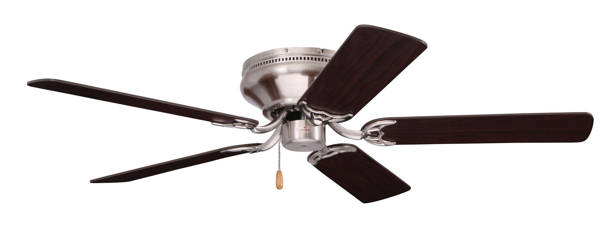 Emerson cf804sbs brushed steel snugger 42 5 blade ceiling for The emerson
