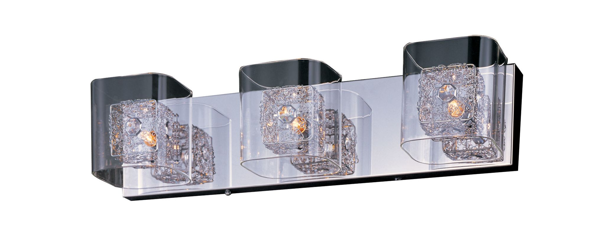 Vanity Light Rough In : ET2 E22833-18PCPC Polished Chrome 3 Light 22