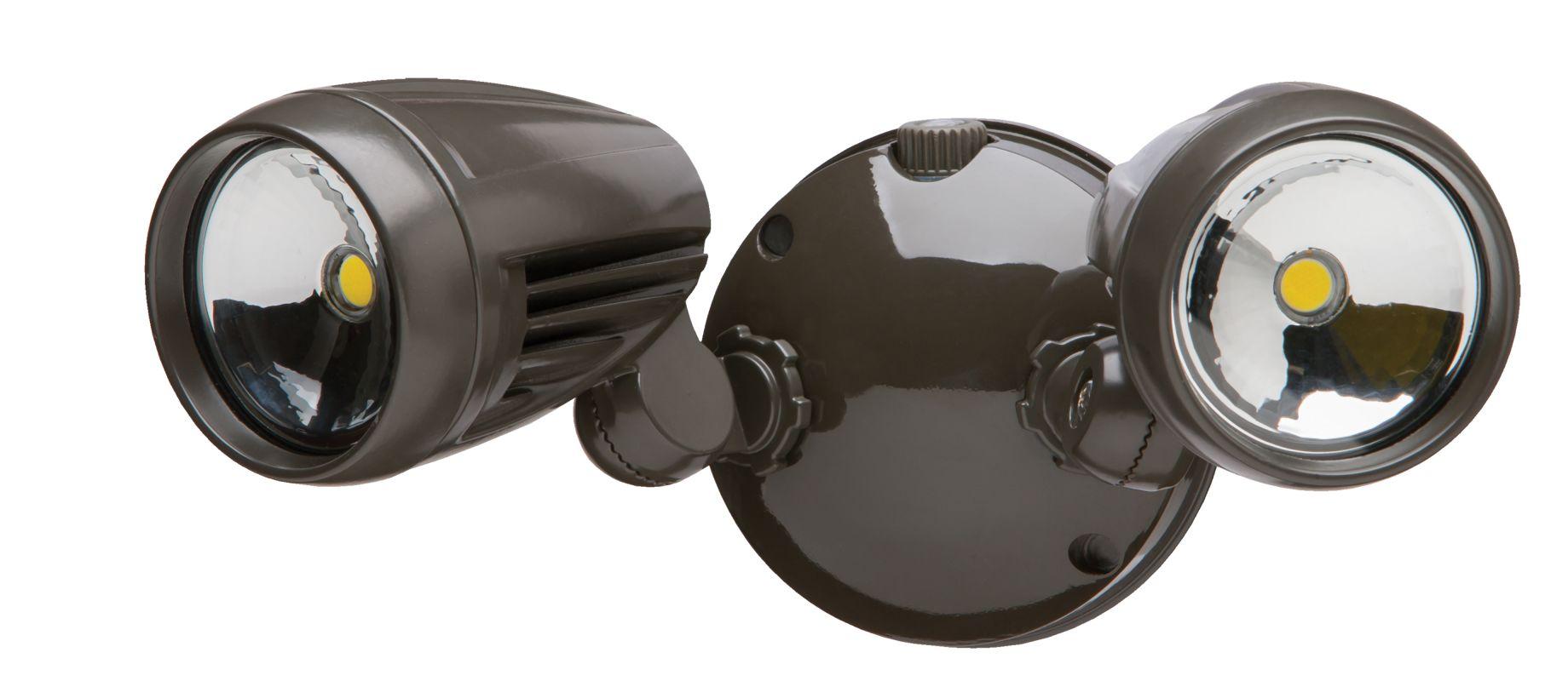 Heath Zenith Hz 8486 Bz A Bronze Led Dual Head Automatic
