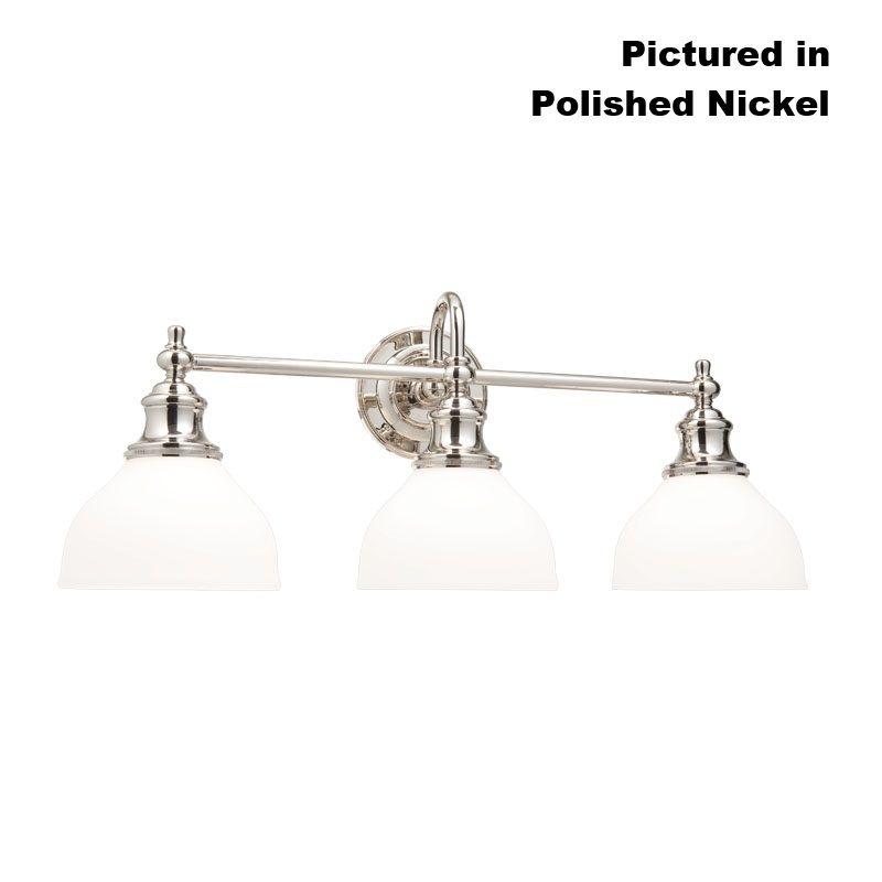 Hudson Valley Lighting Bulbs: Hudson Valley Lighting 5903-AN Antique Nickel Sutton 3