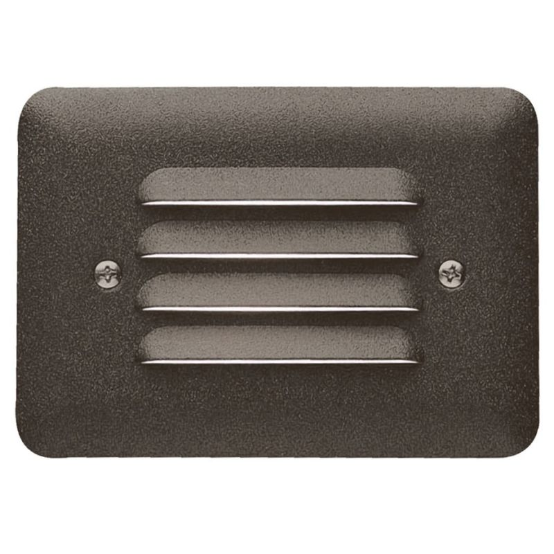 "Step Light With Photocell: Kichler 15072AZT Textured Architectural Bronze 5"" Xenon"