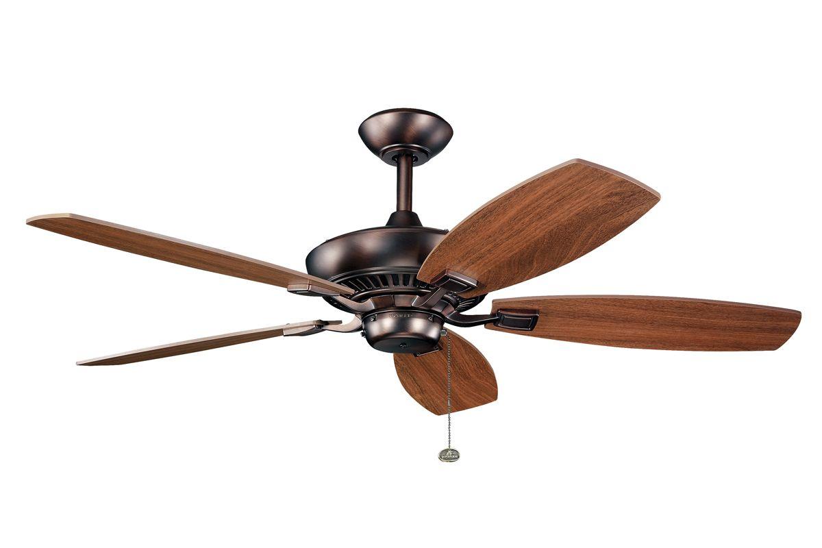 Kichler 300117obb Oil Brushed Bronze 52 Quot Indoor Ceiling