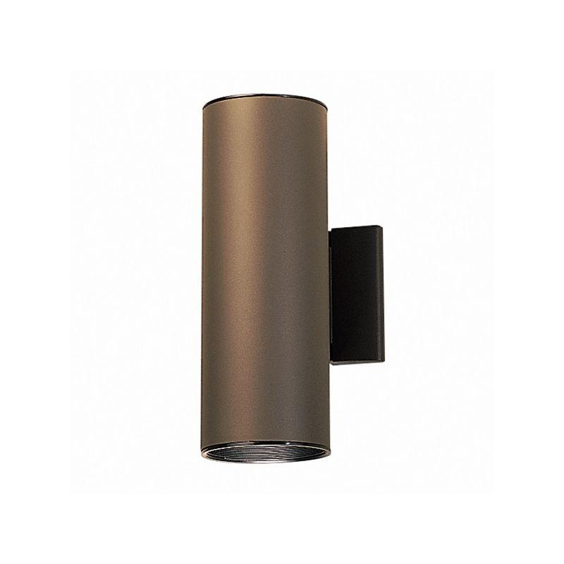 Kichler 9244az Architectural Bronze 2 Light 12 Tall Outdoor Wall