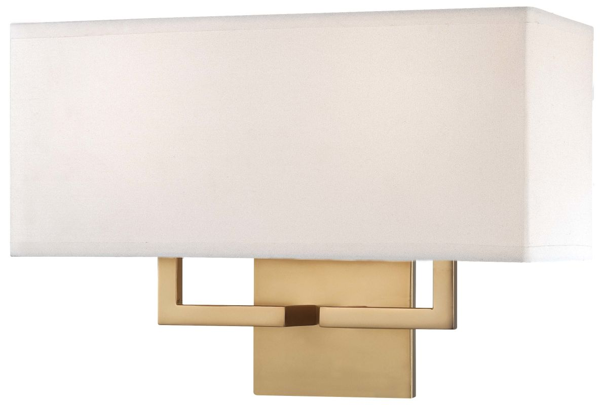 What Height Wall Sconces : Kovacs P472-248 Honey Gold 2 Light 11