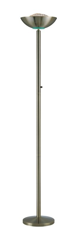 Lite Source Ls 80910ab Antique Bronze Halogen Torchiere Lamp From The Basic Ii Collection