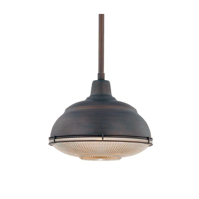 Industrial Mini Pendant Light: Millennium Lighting 5331-RBZ Rubbed Bronze Neo-Industrial