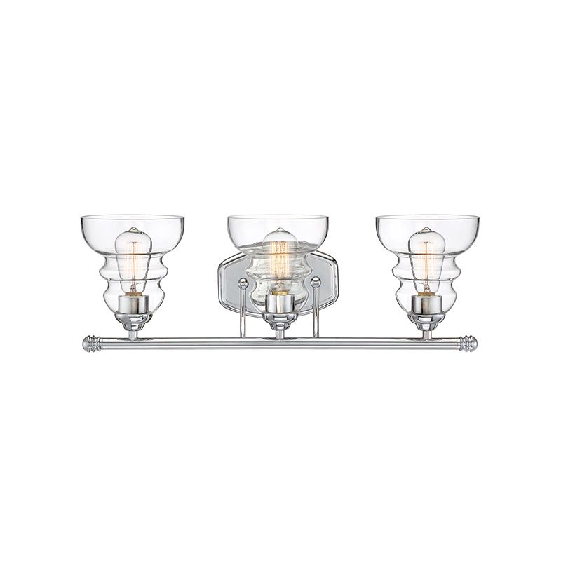 Vanity Light Bulbs Specialty : Millennium Lighting 7333-CH Chrome 3 Light 24