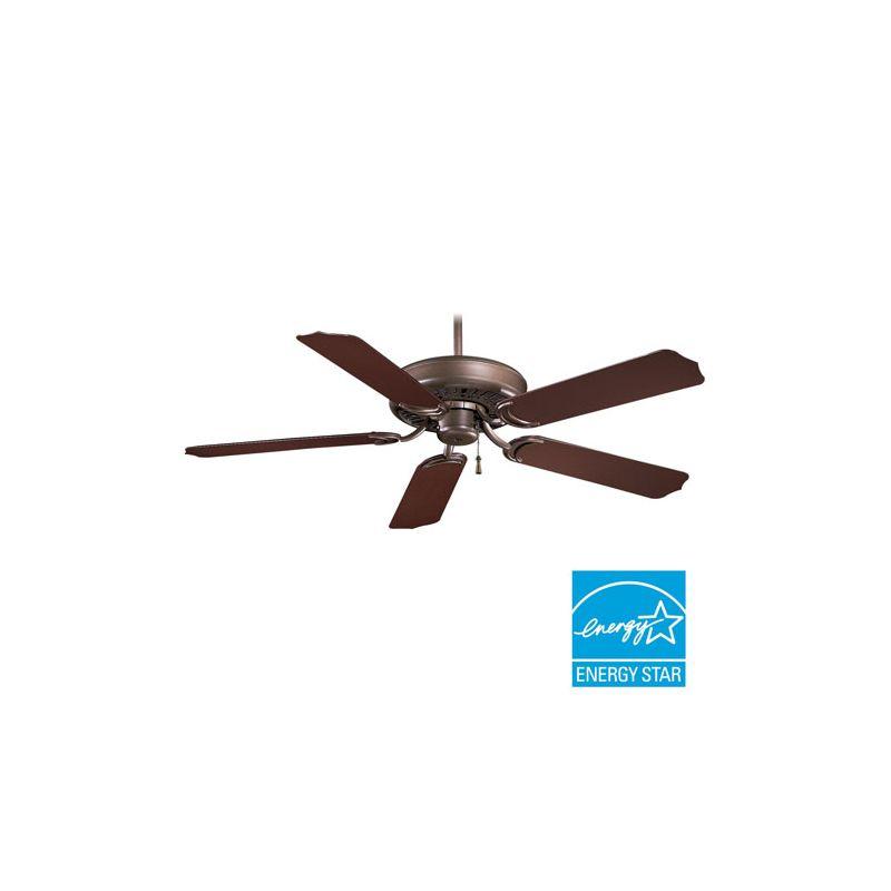 """Minka Aire 52 Gauguin Tropical 4 Blade Indoor Outdoor: MinkaAire F571-ORB Oil Rubbed Bronze 5 Blade 52"""" Indoor"""
