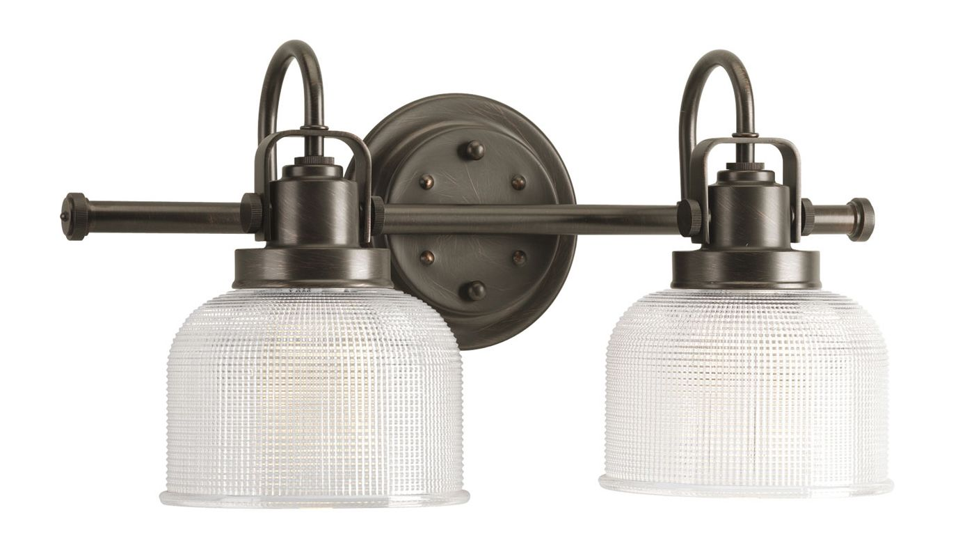 Progress Lighting Archie Collection 26 25 In 3 Light: Progress Lighting P2991-74 Venetian Bronze Archie 2 Light