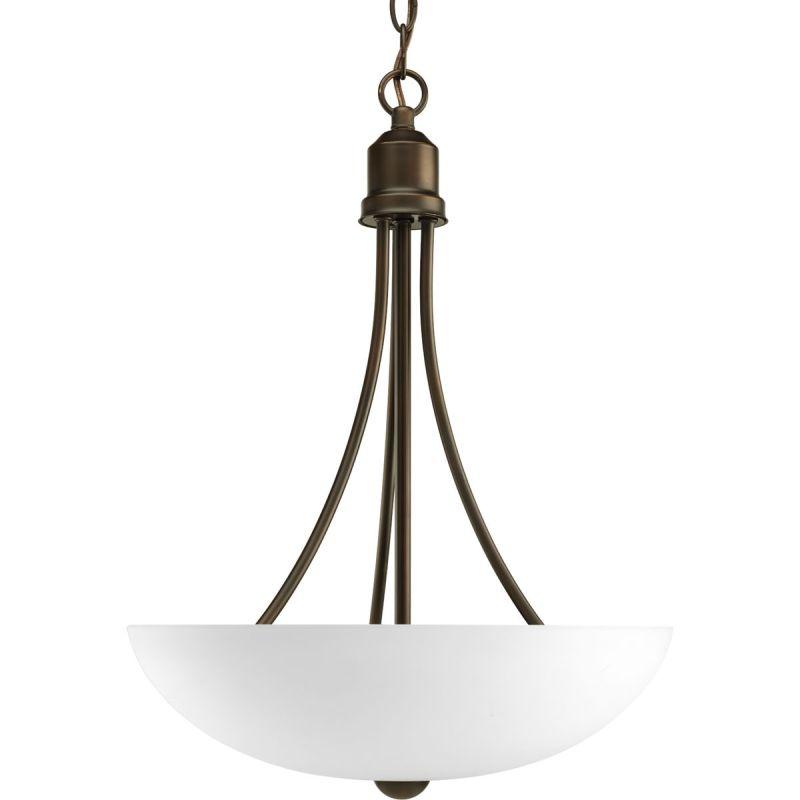 Progress lighting p3914 20 antique bronze gather 2 light for Progressive lighting