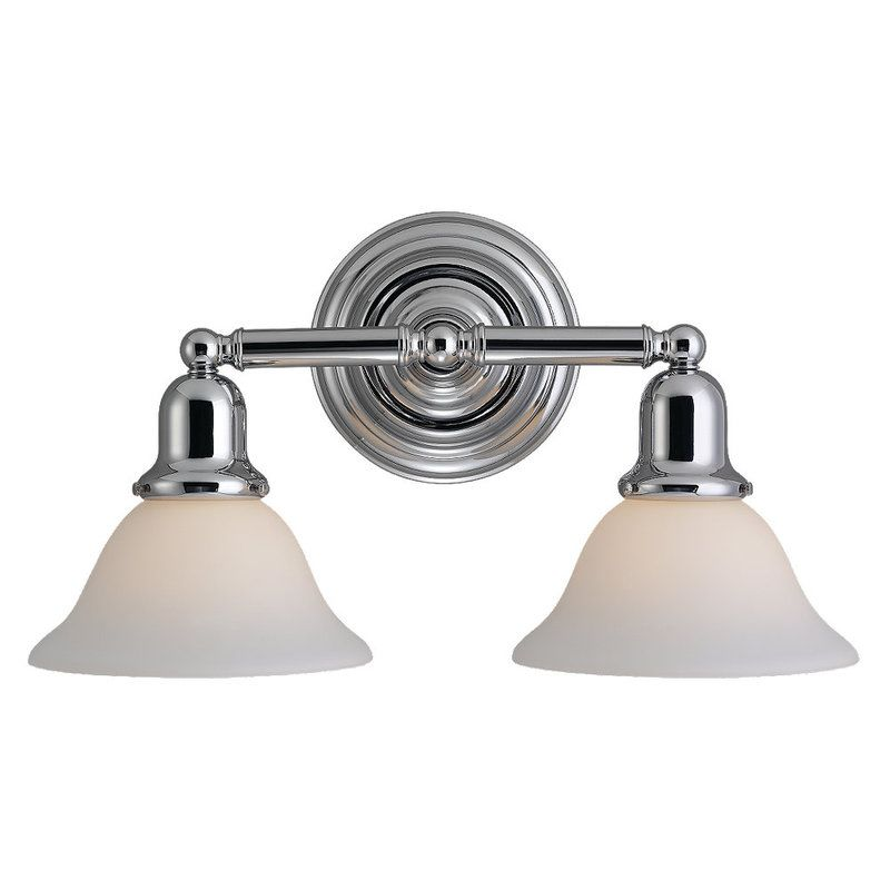 Sea Gull Lighting Products: Sea Gull Lighting 44061-05 Chrome Sussex 2 Light Bathroom