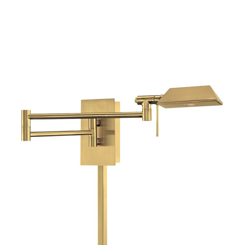 Wall Sconces For Damp Locations : WAC Lighting BL-1223-BR Brushed Brass Cue 22