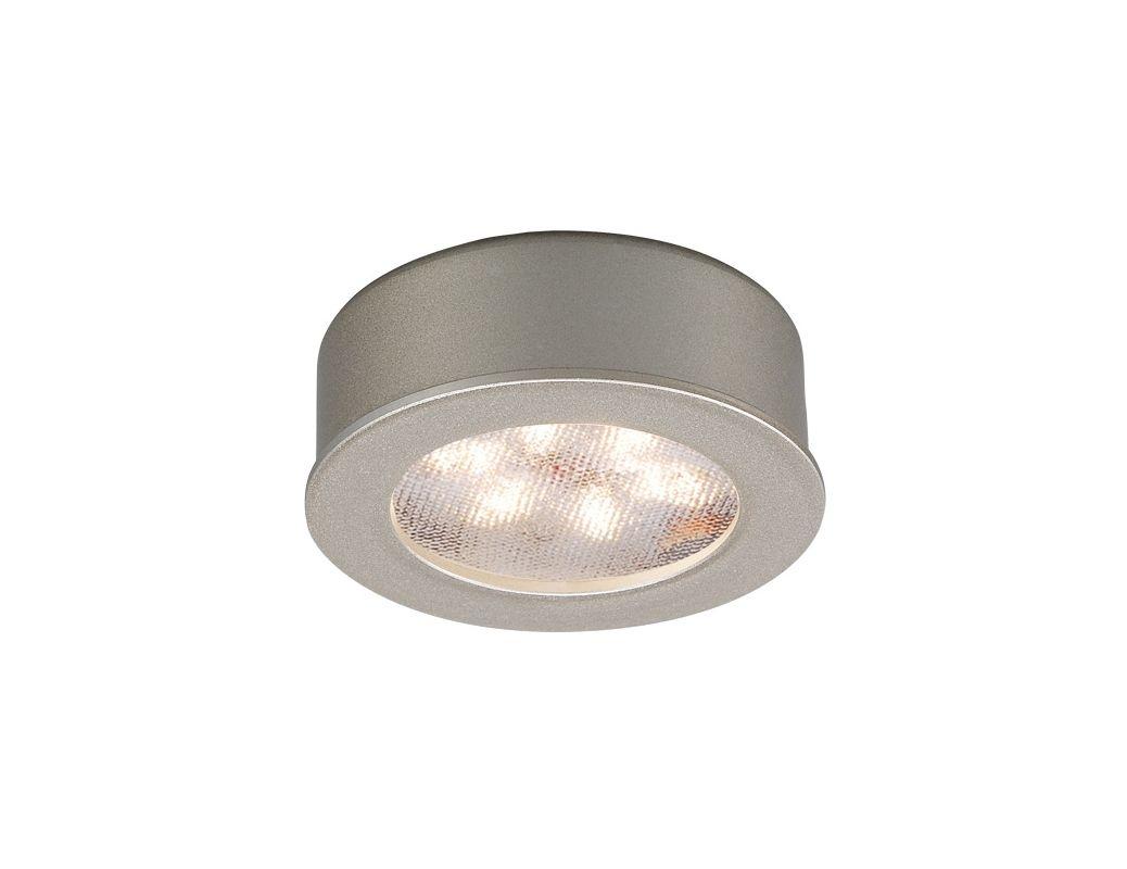 high output led round under cabinet puck light. Black Bedroom Furniture Sets. Home Design Ideas