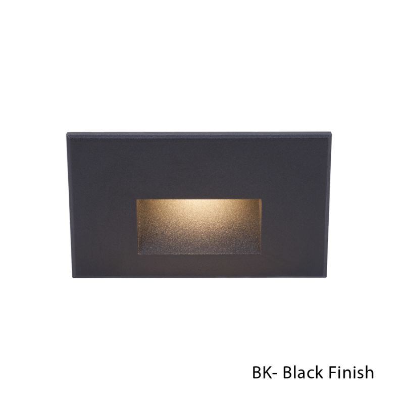 WAC Lighting WL-LED100-C-BK Black 1 Light LED Rectangular