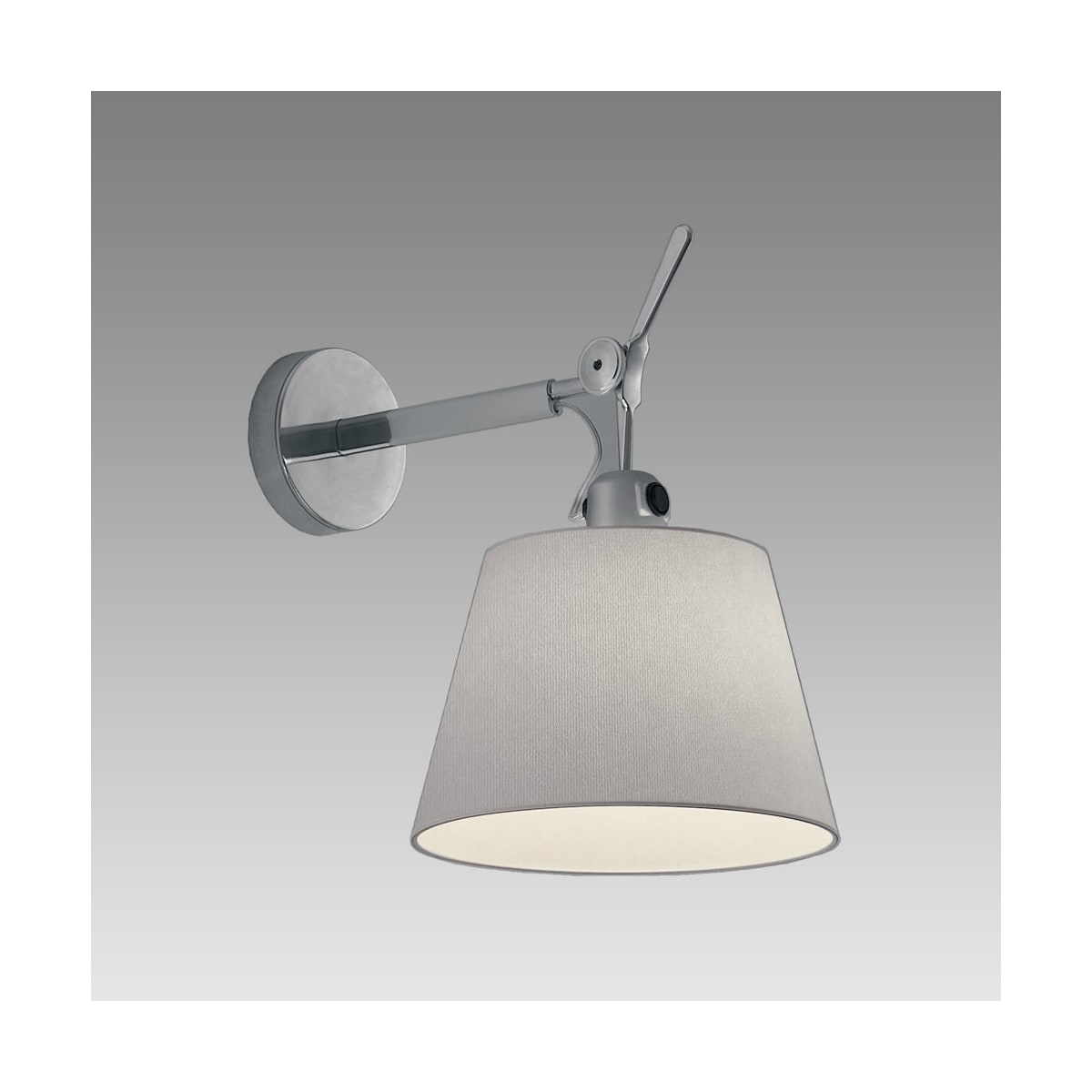 huge selection of 112de 1da1c Artemide Tolomeo With Shade Wall Sconce