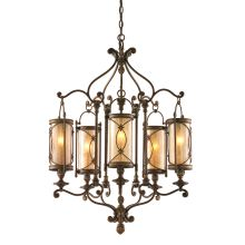 St. Mortiz 5 Light 1 Tier Chandelier