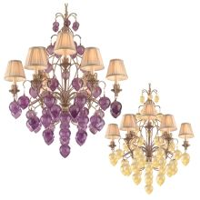 Nine Light Chandelier from the Venetian Collection
