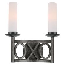 Odette 2 Light Double Wall Sconce
