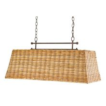 "Basket 3 Light 36"" Wide Chandelier"