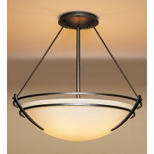 3 Light Bowl Light Semi-Flush Ceiling Fixture from the Presidio Tryne Collection