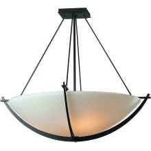 3 Light Bowl Light Semi-Flush Ceiling Fixture from the Compass Collection
