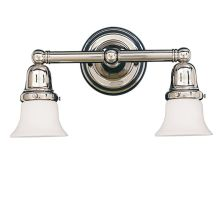 Two Light Wall Sconce from the Historic Collection