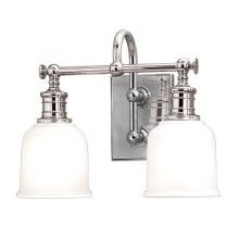 Keswick 2 Light Bathroom Vanity Light