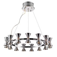 Kim 15 Light 1 Tier Chandelier