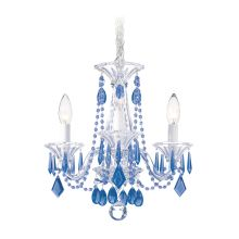 "14"" Wide 3 Light Candle Style Chandelier from the Allegro Collection"