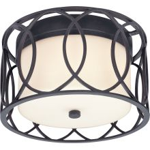 Sausalito 2 Light Flush Mount Ceiling Fixture