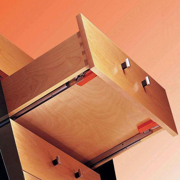 undermount center drawer slides