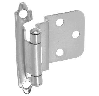 stanley home designs bb8195sn satin nickel inch self closing 375